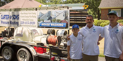 About Us | Carter & Son's Pressure Washing - Thomasville, GA